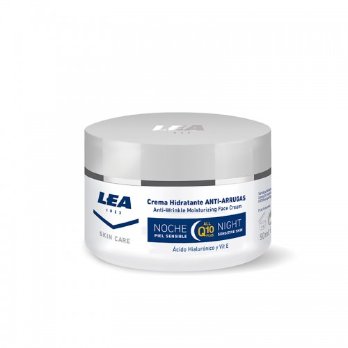 LEA Skin Care Crema Facial Anti-Arrugas de Noche  Q -10 PLUS 50 ml.