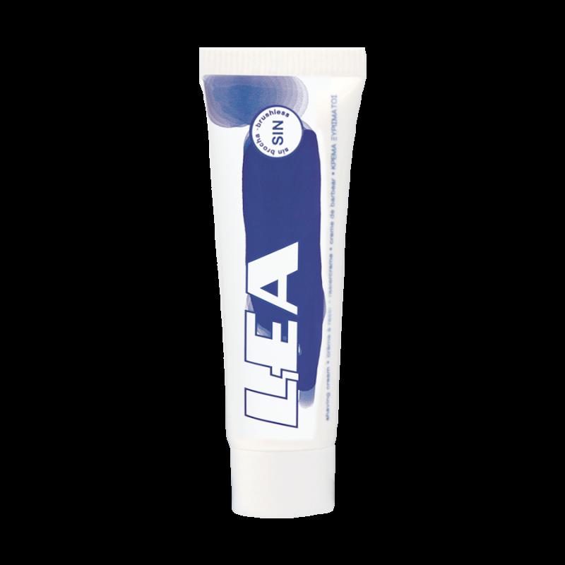Crema de Afeitar Sin Brocha LEA 10 gr. caja con 25 uds.