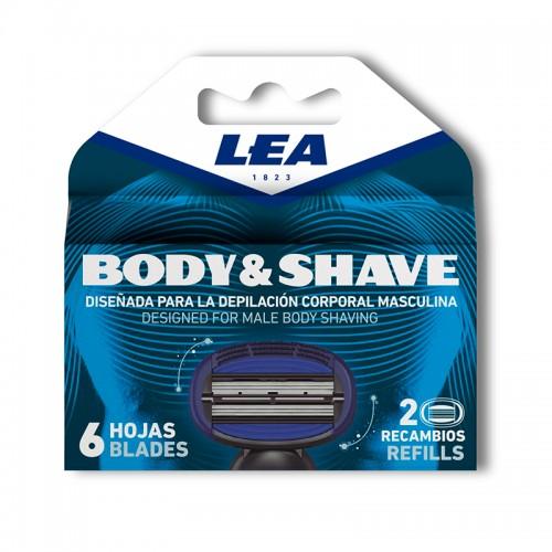 LEA BODY & SHAVE refills 2...