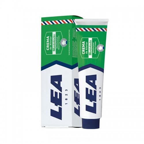 Crema de Afeitar Con Brocha Mentolada LEA 150 g.