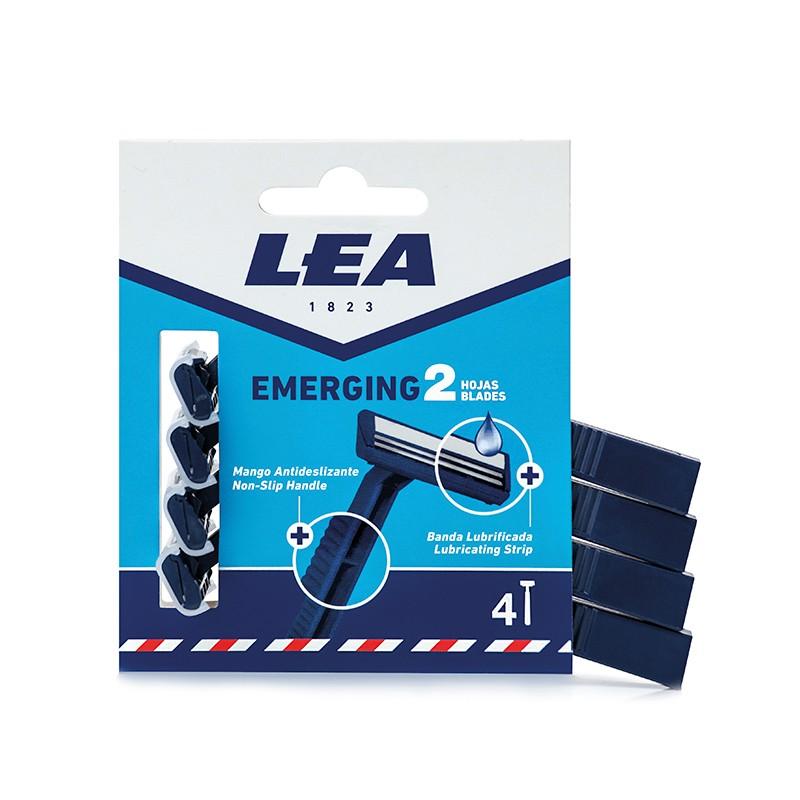 LEA Emerging 2 maquinilla 4 uds.