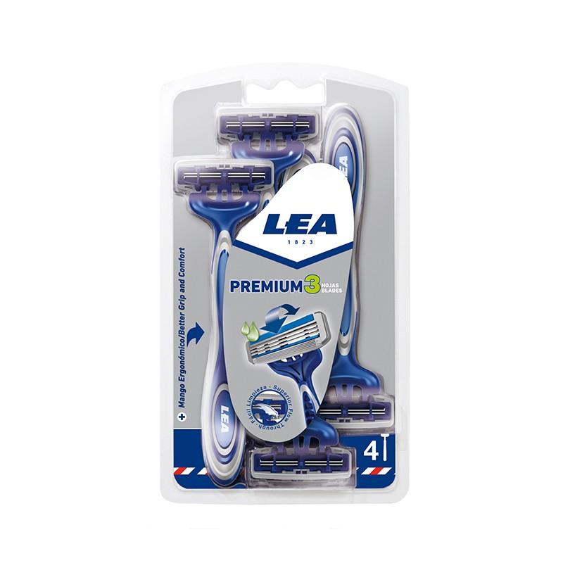 Maquinilla Desechable LEA PREMIUM 3 4 uds.