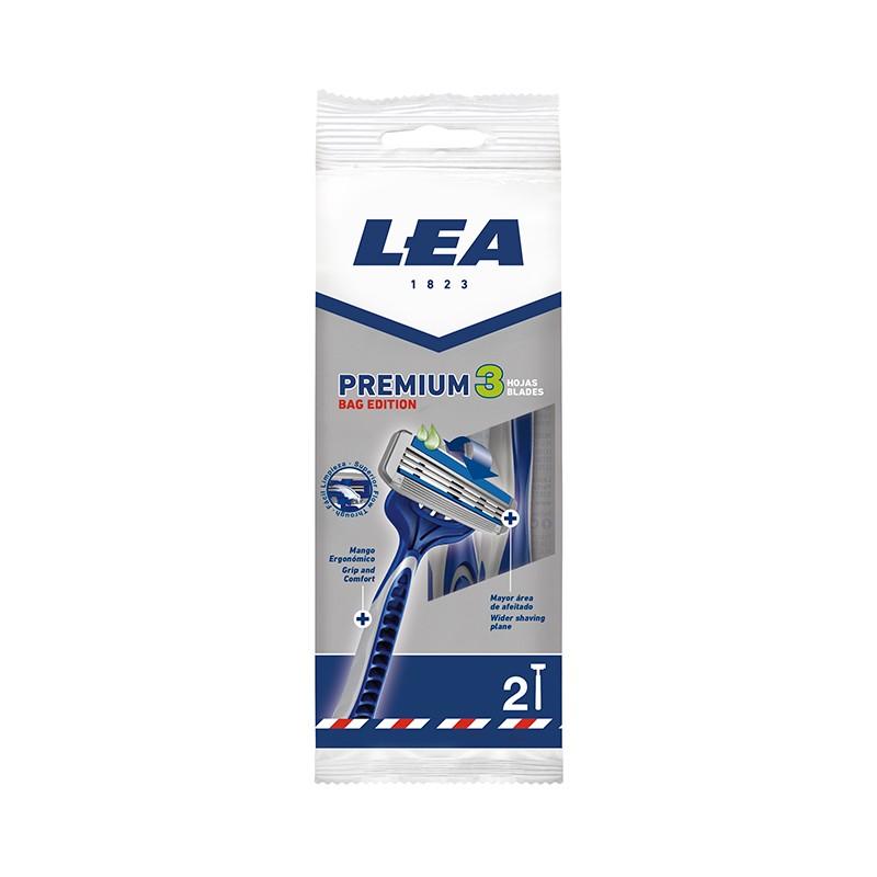 Maquinilla Desechable LEA PREMIUM 3 BAG EDITION 2 uds.