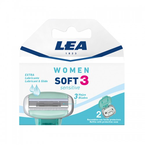 Recambio LEA Women SOFT 3 Sensitive 2 uds