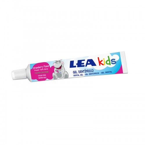 Gel Dentífrico Fresa LEA KIDS 50 ml
