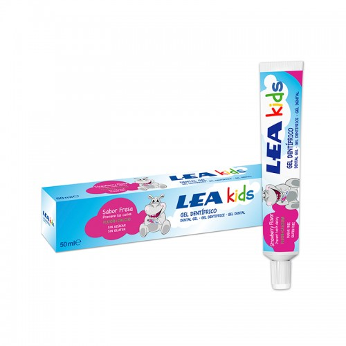 Gel Dentífrico Fresa LEA KIDS 50 ml