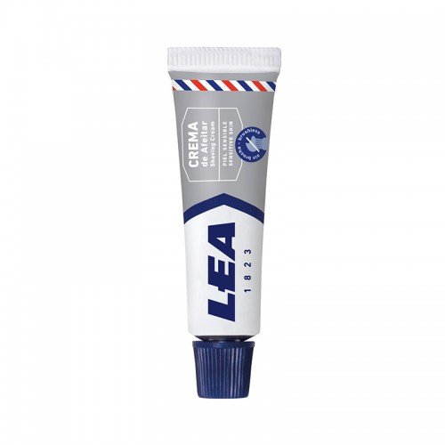Crema de Afeitar Sin Brocha LEA 8 gr. caja con 25 uds.